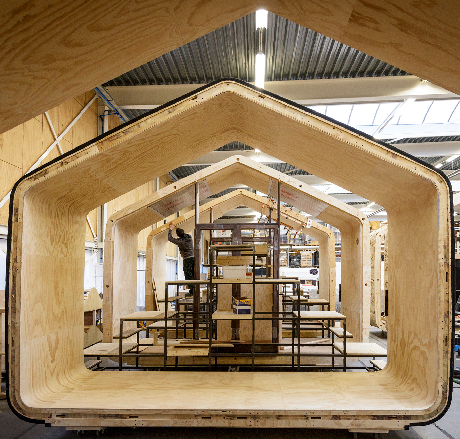 Wikkelhouse – aus Pappe gewickelt